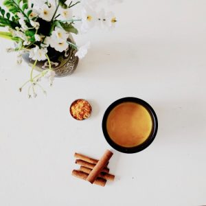 Golden Almond and Turmeric Latte Recipe