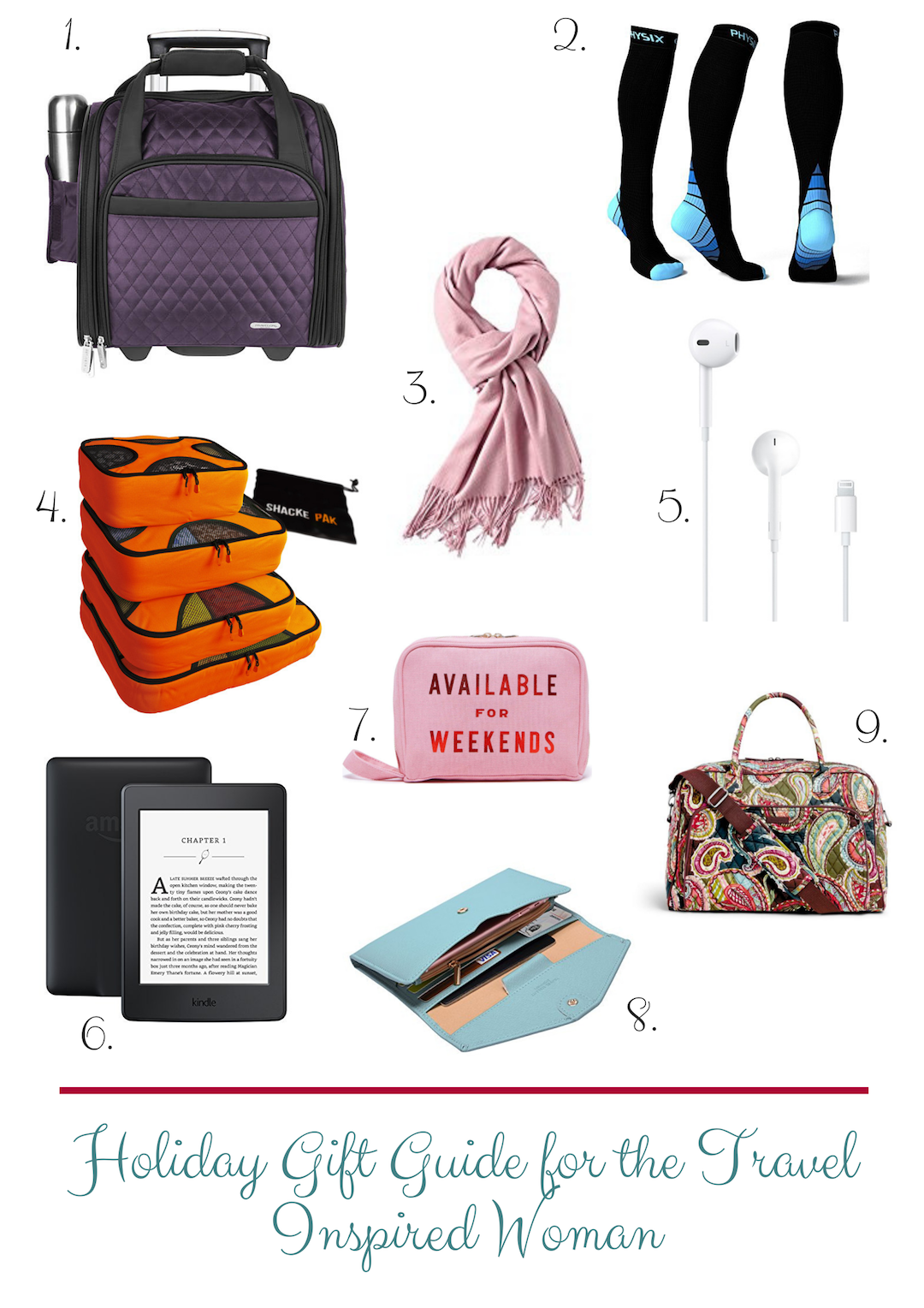 Holiday Gift Guide for the Travel Inspired Woman