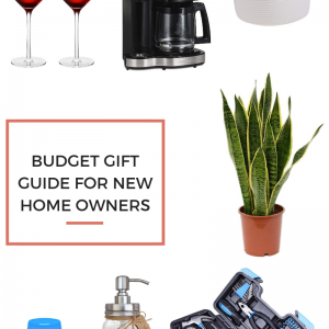 Budget Gift Guide for the New Home Owner